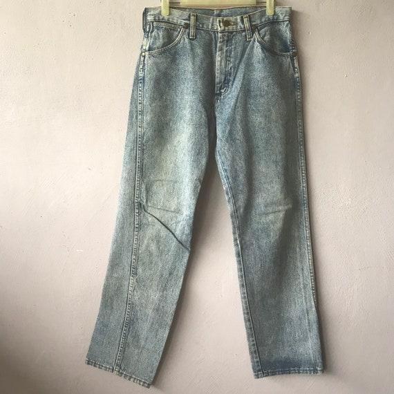 Vintage Wrangler Acid Wash Jeans