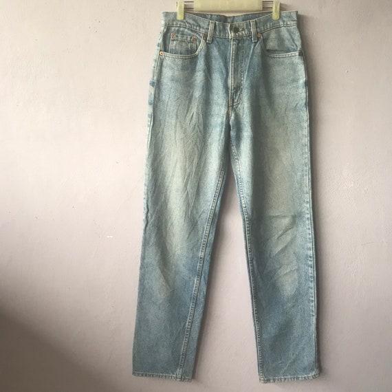 Vintage 90s Levis 510 Acid Wash Distressed Jeans