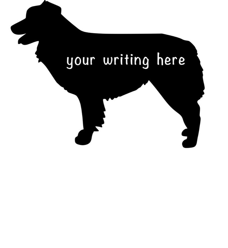 Personalized Dog Sticker