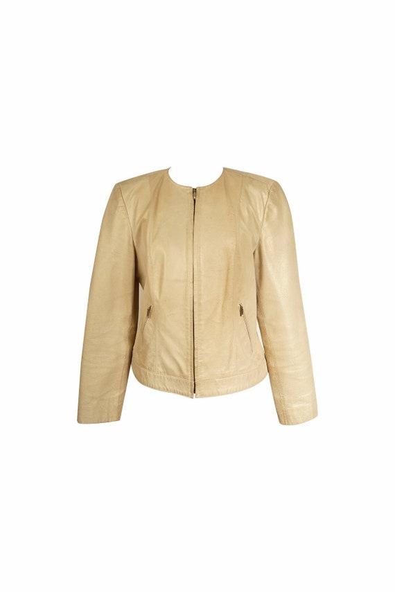 Vintage Gold Metallic Jacket