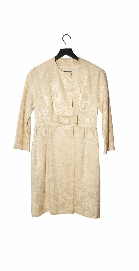 Cream 1940's Handmade Jacket