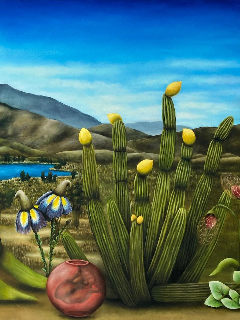 San Diego\u201d from Original Oil Painting \u201cSouth Bay 31\u201d x 11\u201d Giclee Print on Paper