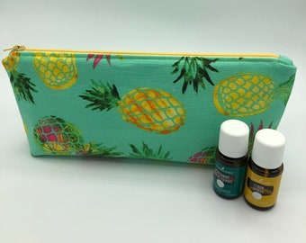 Mini pineapple essential oil bag