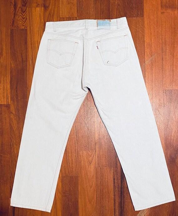 Levi's Vintage White 501