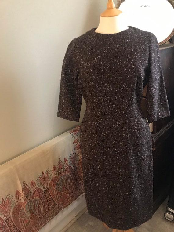 50's shift dress