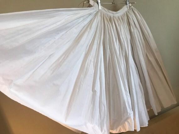 Vintage full circle skirt