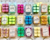 X10 WAX MELTS 700g-750g Pick any 10 scents Hand-poured Triple Scented 38 Scents to choose from Vegan Friendly Soy Wax AU