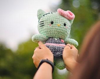 PDF Pattern - Kitty Zombie Friend