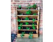 Vertical Planter Box plan, Ladder Planter, Raised Garden Bed, Herb Planter, Plant Holder, Plant Lover Gift, Herb Box, Succulent Planter,