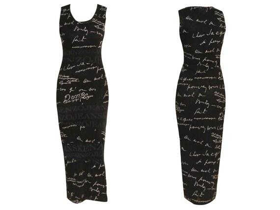 90s KENZO Mesh Dress / 1990S- 2000s Vintage dress
