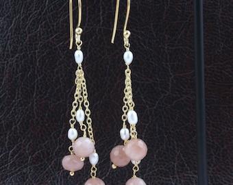 Rhodochrosite Drop Cabochon 18x14mm 18.2ct Top Quality Natural Gemstone Jewelry