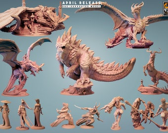 Coming Soon! Kaiju and Samurai from Lord of the Print