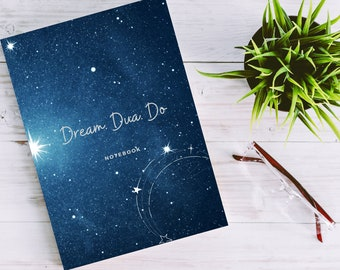 Star Constellation Notebook   Soft cover  Islamic Notebooks   Islamic Gifts for Muslim Youth