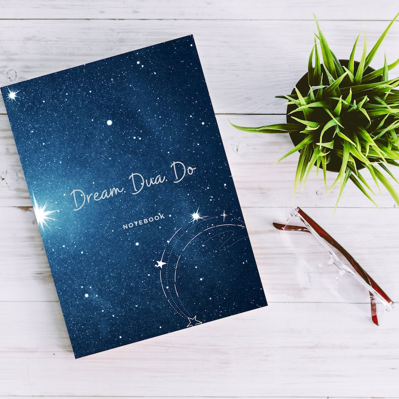 Star Constellation Notebook  Soft cover Islamic Notebooks  image 0