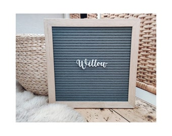 Letter Board Personalized Sign letters,personalised lettering,
