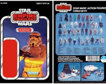Stormtrooper - The Empire Strikes Back - Alternate Kenner cardback