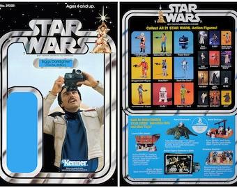 Biggs Darklighter (Tosche Station) - Star Wars - Kenner cardback