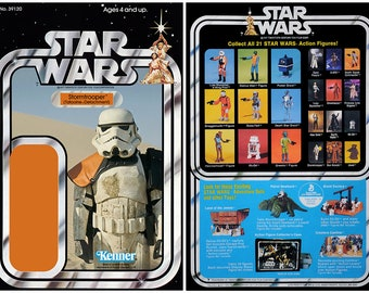Stormtrooper (Tatooine Detachment) - Star Wars - Kenner cardback
