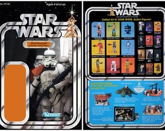 Stormtrooper (Tatooine Patrol Gear) - Star Wars - Kenner cardback