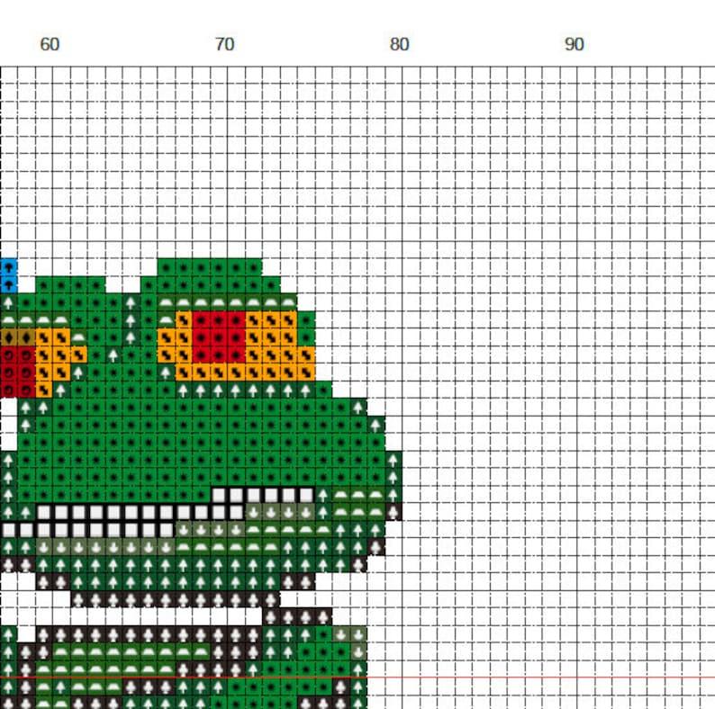 Help Frog Cross Stitch Pattern Instant Download PDF