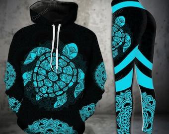 Sea Turtle Hoodie/Tanktop/Legging | Gift For Lover Turtle | Turtle Ocean Fans TDT152010A35