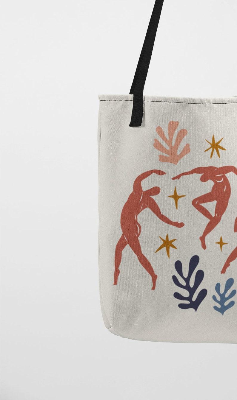 Artistic Bag Shopping bag TB32 Totebag Matisse Totebag The Dance Handmade Matisse Tote Bag Shopper Bag The Dance Fabric Bag