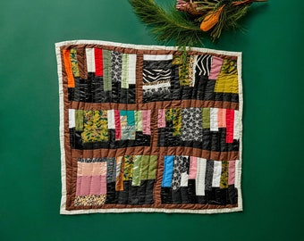 Wall hanger Quilt House of Harlow 1960 x Gee's Bend Creator Collab Holiday Quilt, Holiday Quilt, Heirloom Quilt
