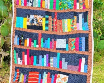 Wall hanger Quilt, Cotton Quilt, Quilted Tapestry, Gee's Bend Quilt,