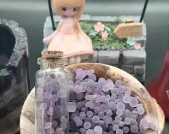 Grape Agate Balls, Bubble, and Tiny Clusters - With Video - Video