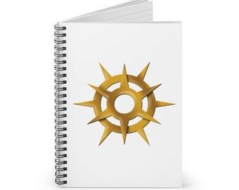 Pelor Spiral Notebook (DnD God of the Sun)