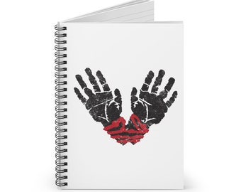 Ilmater Spiral Notebook (DnD deity of the oppressed)