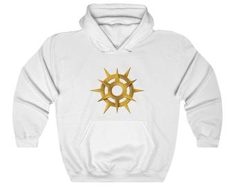Pelor Unisex Pullover Hoodie Sweatshirt (DnD god of the Sun)