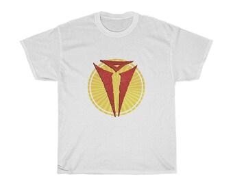 Asmodeus Burst T-Shirt (DnD archdevil and deity of evil)