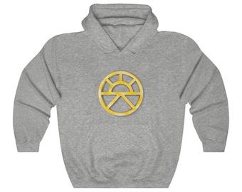 Lathander Unisex Pullover Hoodie Sweatshirt (DnD deity of renewal)