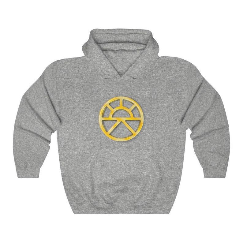 Lathander Unisex Pullover Hoodie Sweatshirt DnD deity of image 1