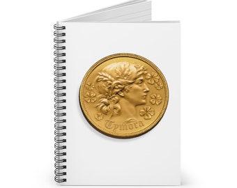 Tymora Spiral Notebook (DnD deity of good fortune)
