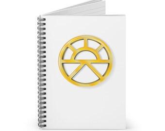 Lathander Spiral Notebook (DnD deity of renewal)
