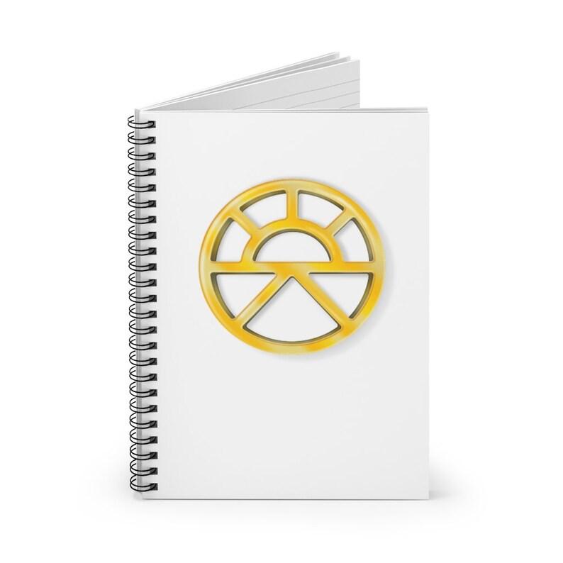 Lathander Spiral Notebook DnD deity of renewal image 1