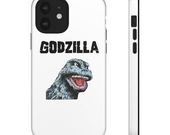 Retro Classic Godzilla Phone Case for iPhone 8  11  12  X Xr  Xs