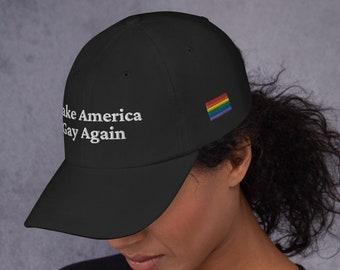 Make American Gay Again Dad hat