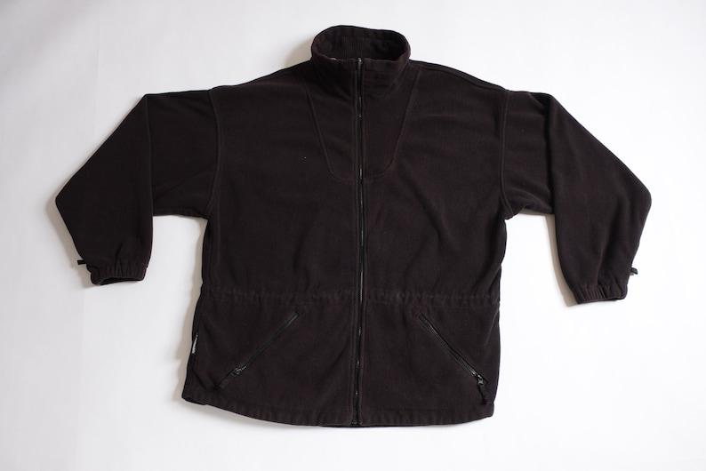 Columbia Black Fleece Coat