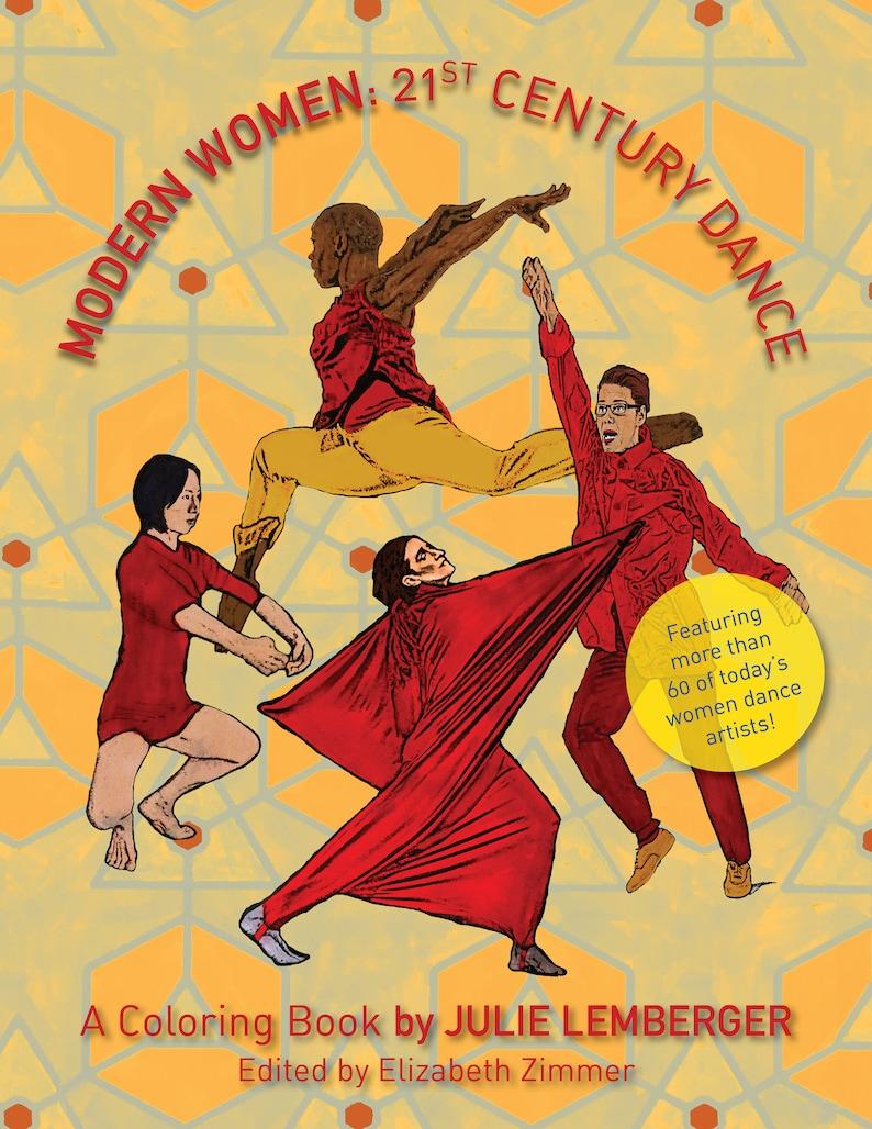 Modern Women: 21st Century DANCE Coloring Book image 0