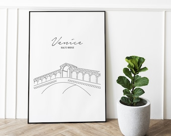 Minimalist line art wall decor for your home, check out my other beautiful line art designs!