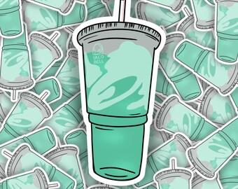 Taco Bell Baja Blast Sticker | Hydroflask Sticker | Laptop Sticker | Notebook Sticker | Vinyl Sticker | Waterproof Sticker