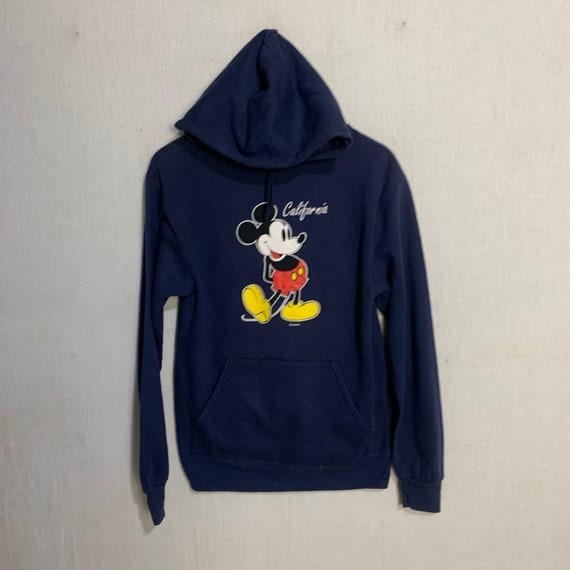 Vintage hoodie sweatshirt Mickey Mouse California