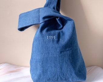 Denim.Bag Ladies Men Gift for Her Japan Okinawa Limited FS