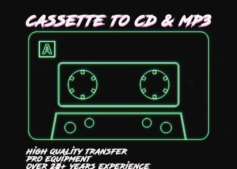 Cassette to CD/USB/mp3 digital download image 0