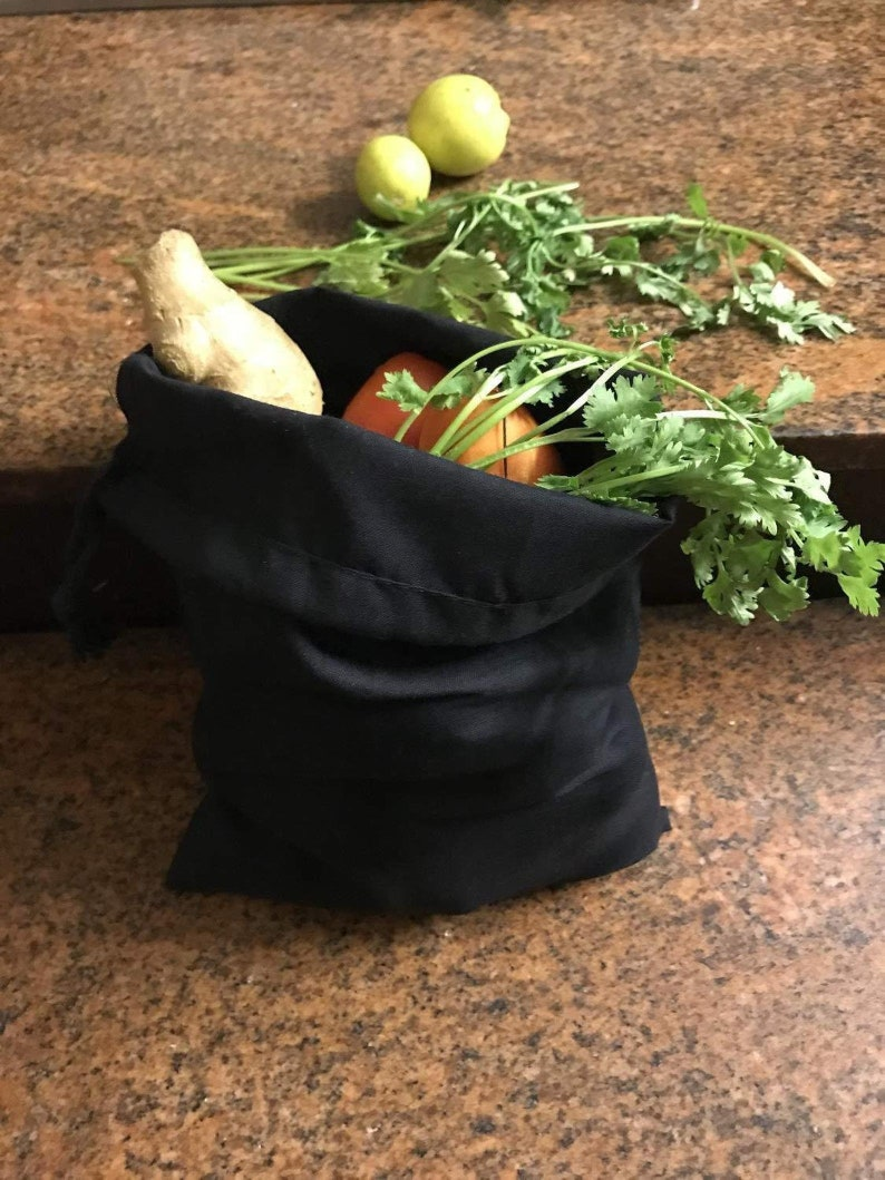 25, 50, 100, 200 Black Premium Quality Eco-Friendly Reusable Cotton Bags Choose Qty 4x6 Inches Cotton Single Drawstring Muslin Bags