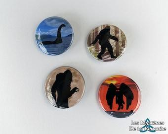 "Badge: ""Creatures"" series"