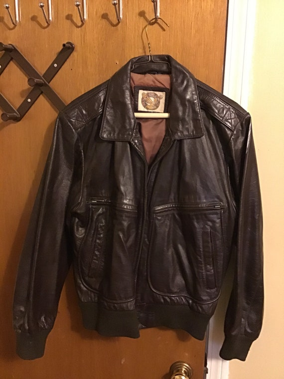 1980s Vintage Leather Jacket